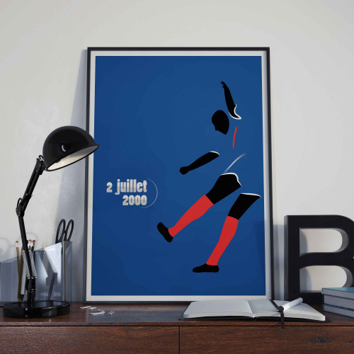 Affiche Trezeguet, Euro 2000