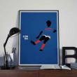 Affiche Platini, Euro 2004