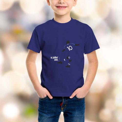 T-shirt enfant Mbappé, Mondial 2018