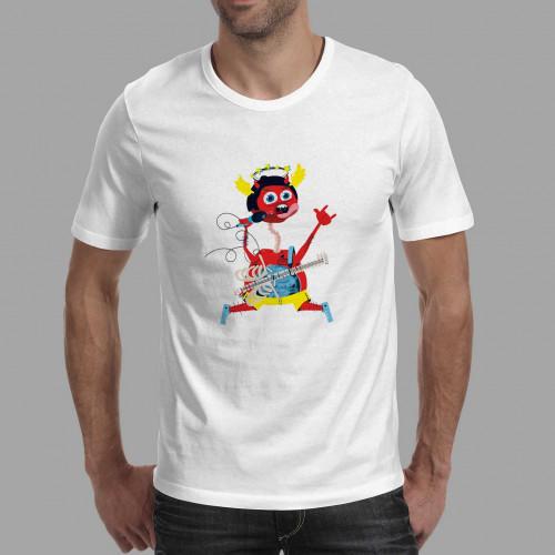T-shirt homme Diablotin Rock On !