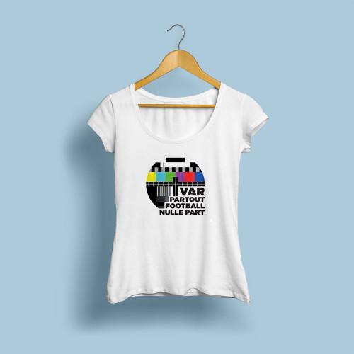T-shirt femme VAR partout