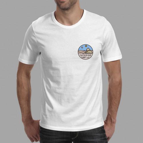 T-shirt homme Tatooine
