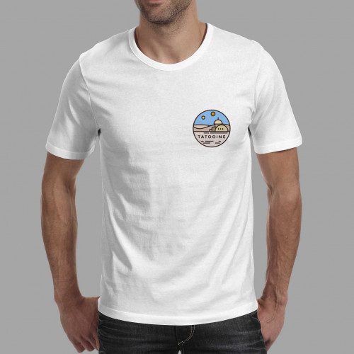 T-shirt homme Tatooine
