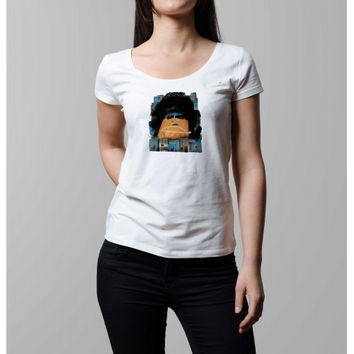 T-shirt femme Maradona Boca