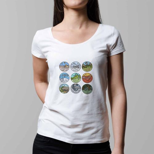 T-shirt femme SW Galaxy