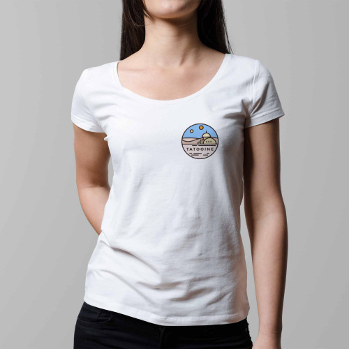 T-shirt femme Tatooine