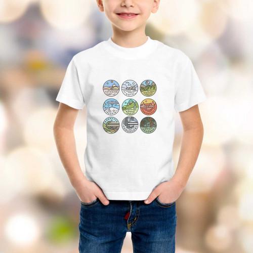 T-shirt enfant SW Galaxy