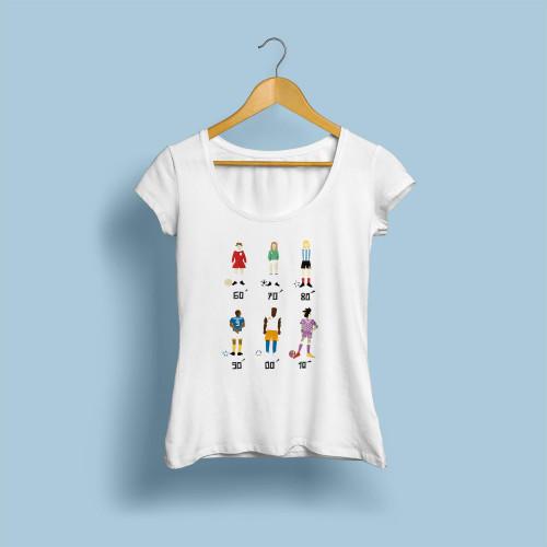 T-shirt femme Football looks