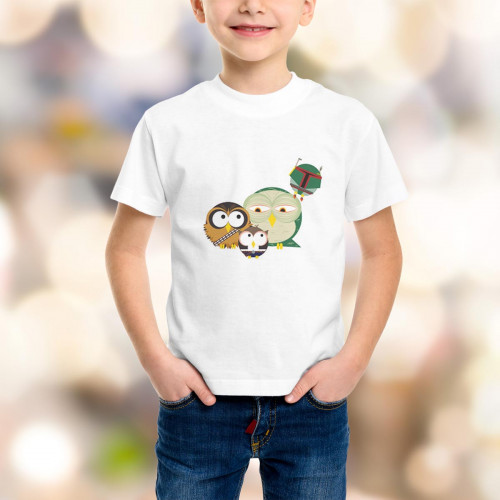 T-shirt enfant Solo & Chewbacca