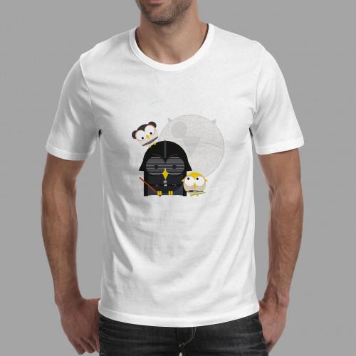 T-shirt homme Vador, Luke & Leia