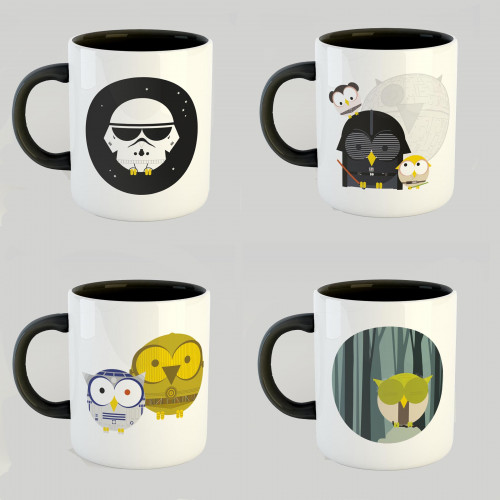 Pack 4 mugs Star Wars