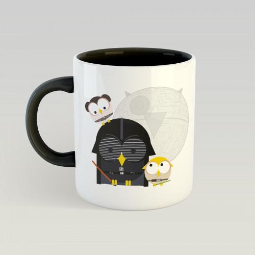 Mug Vador, Luke & Leia