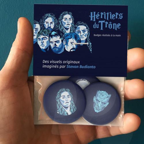 Badges Héritiers du Trones