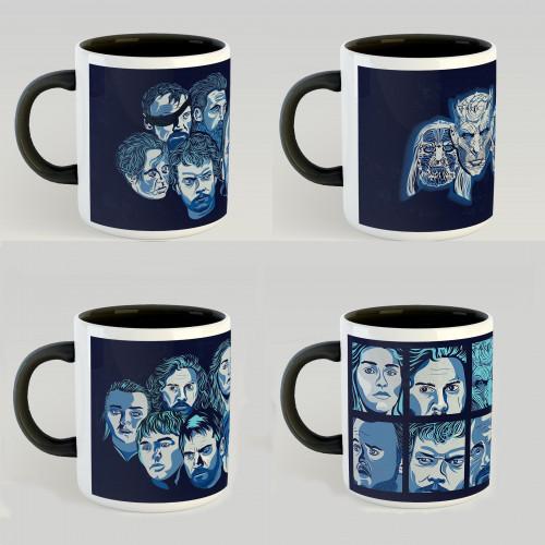 Pack 4 mugs GOT