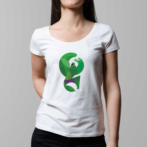 T-shirt femme Hulk