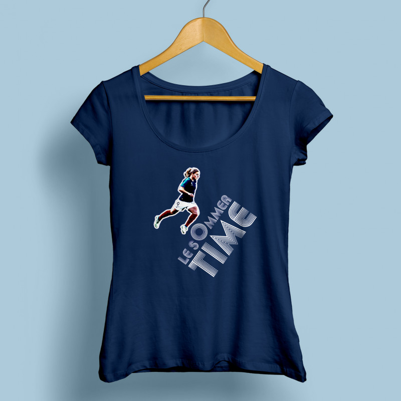 781368ffa42ee T-shirt femme Le Sommer Time - Pop And Kop
