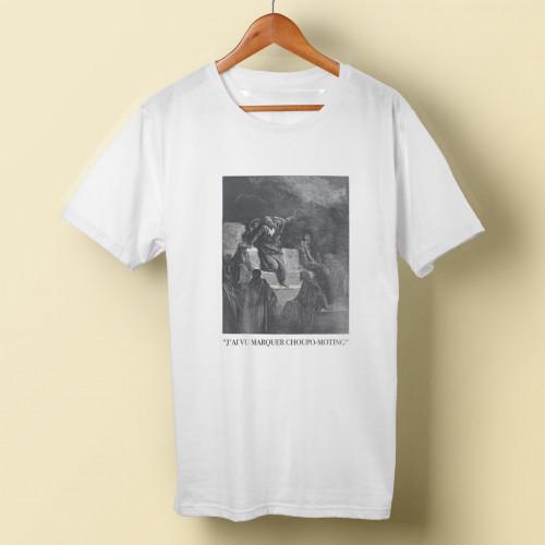 T-shirt H J'ai vu marquer Choupo-Moting