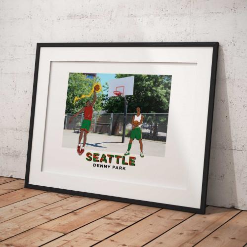 Affiche Seattle / Denny Park