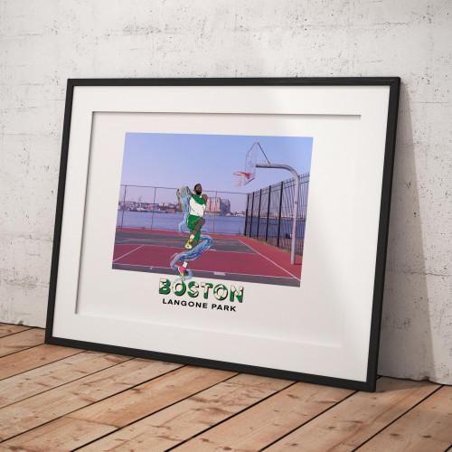 Affiche Boston / Langone Park