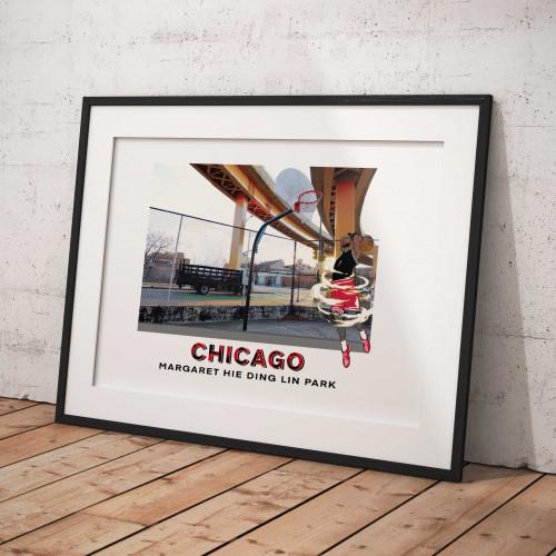 Affiche Chicago / Margaret Hie Ding Lin Park