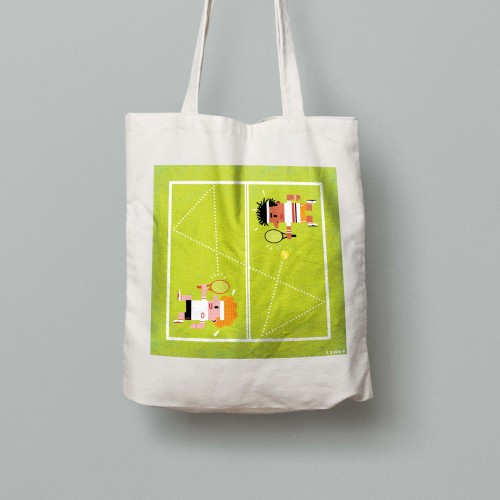 Tote bag Grand Chelem Wimbledon men