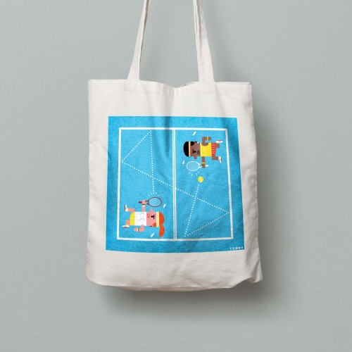Tote bag Grand Chelem US Open