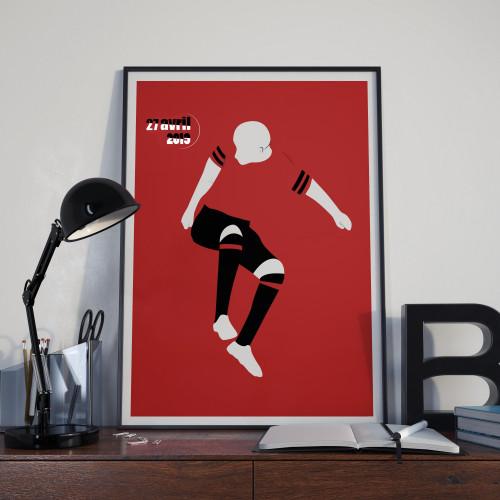 Affiche Mexer, Rennes-PSG 2019