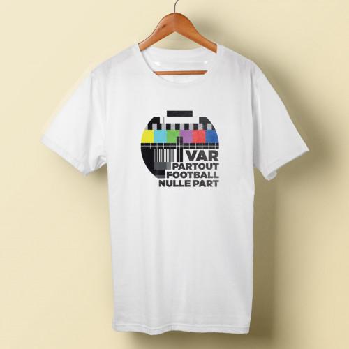 T-shirt homme VAR partout