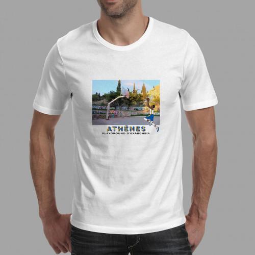 T-shirt homme Athènes / Exárcheia