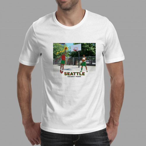 T-shirt homme Seattle / Denny Park
