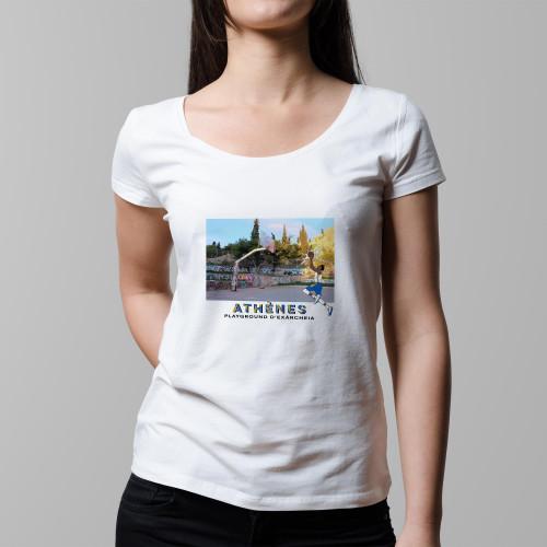 T-shirt femme Athènes / Exárcheia