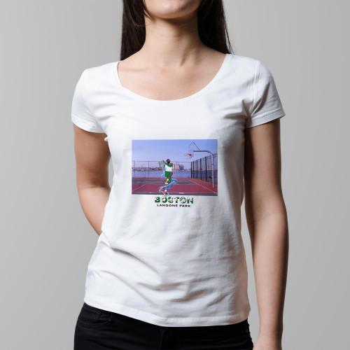 T-shirt femme Boston / Langone Park
