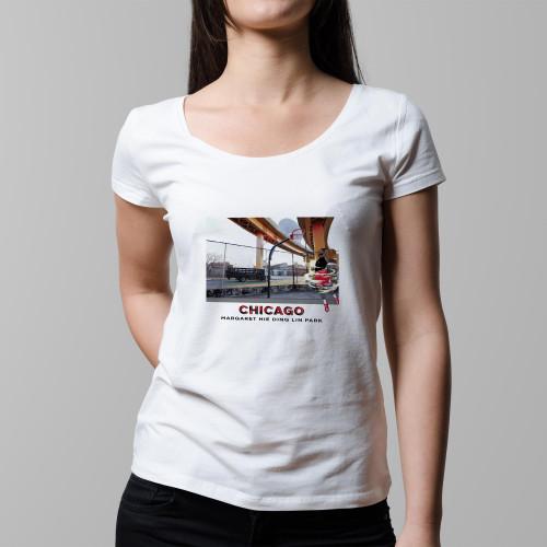T-shirt femme Chicago / Margaret Hie Ding Lin Park