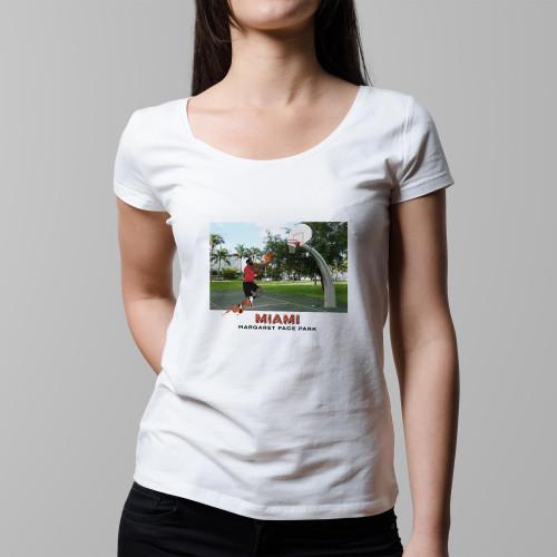 T-shirt femme Miami (version HEAT)