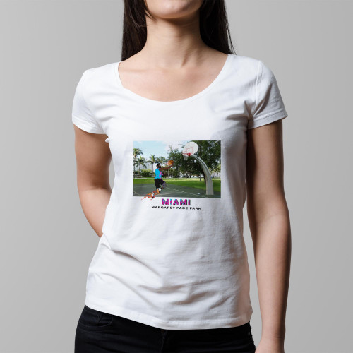 T-shirt femme Miami (version VICE)