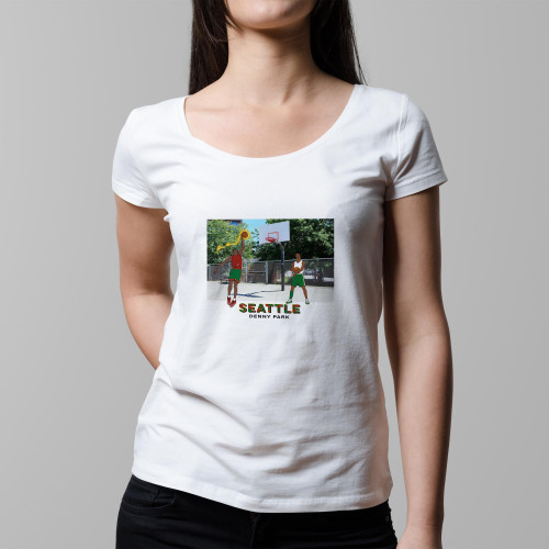 T-shirt femme Seattle / Denny Park