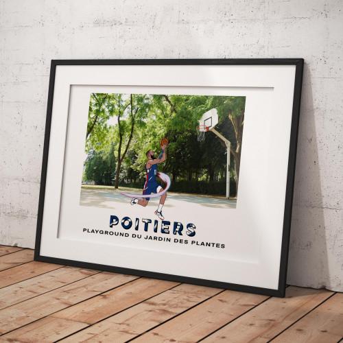 Affiche Poitiers / Jardin des plantes
