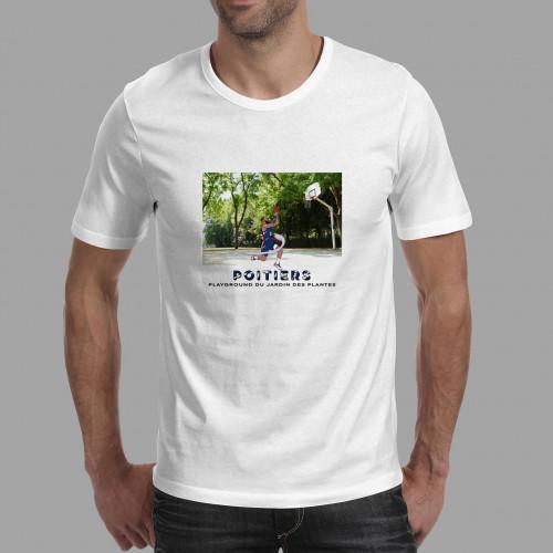 T-shirt homme Poitiers / Jardin des Plantes