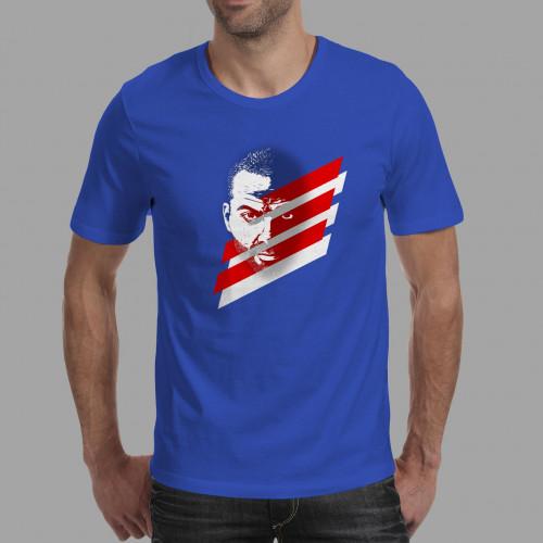 T-shirt homme Tony Parker Bleus