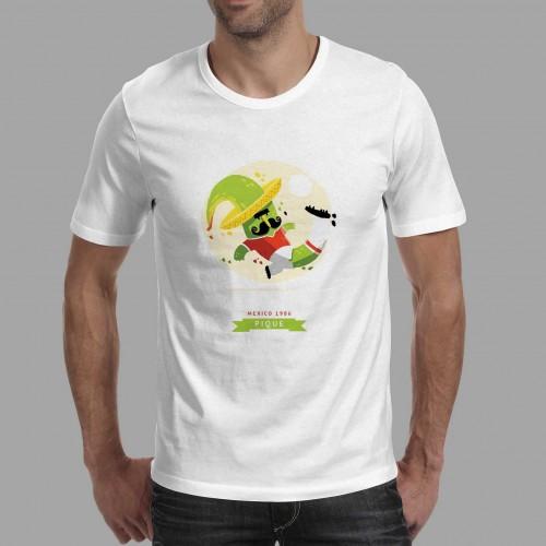 T-shirt homme Mascotte Mexico 1986