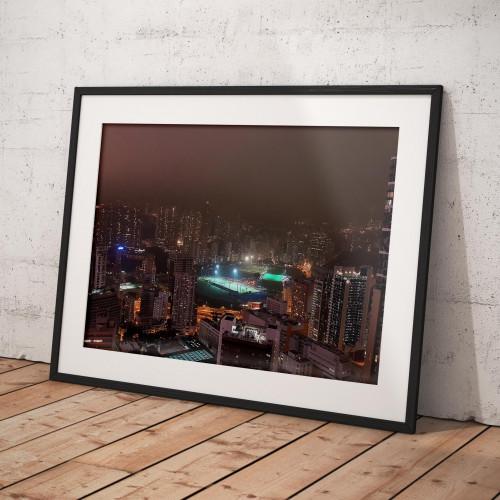 Affiche Hong Kong by night