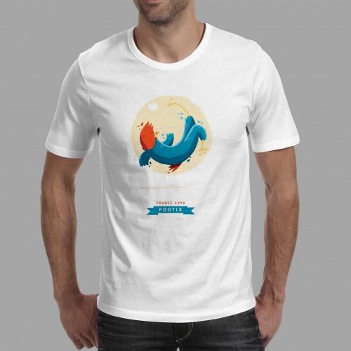 T-shirt homme Mascotte France 98