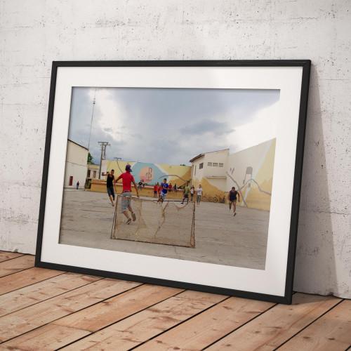 Affiche Cuba en la calle