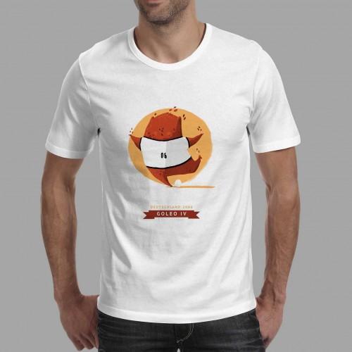 T-shirt homme Mascotte Deutschland 2006