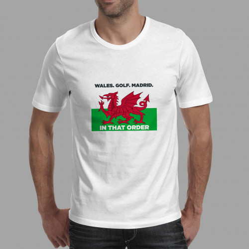 T-shirt Wales Golf Madrid