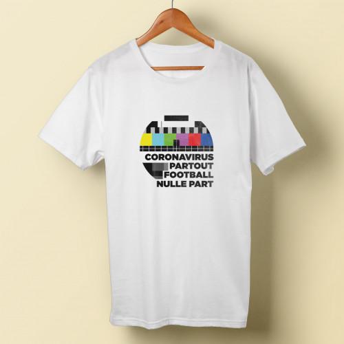 T-shirt homme Coronavirus partout