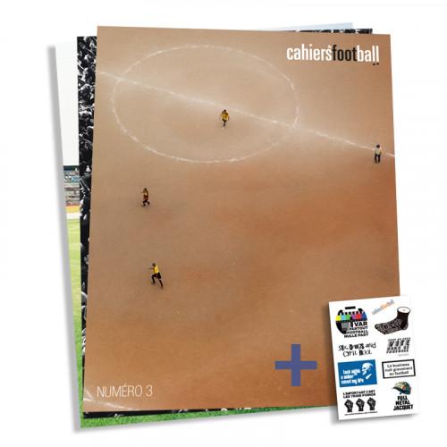 Revue Cahiers du football: n°1 au n°3