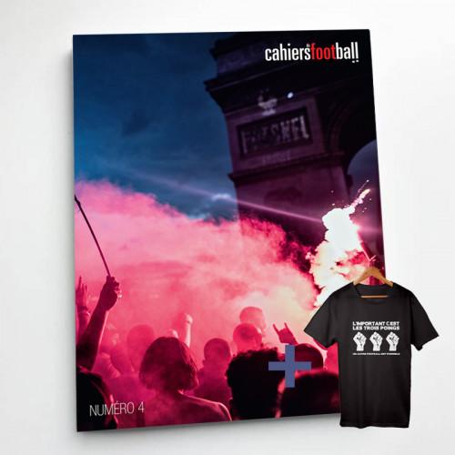 Cahiers du foot : la revue + t-shirt