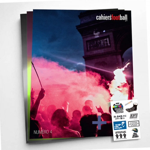 Cahiers du football, la revue: abonnement 3 numéros