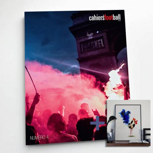 Cahiers du foot: la revue + Affiche Coq Soccer